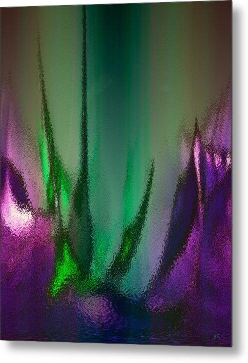 Abstract Digital Art Metal Print featuring the digital art Abstract 2 by Gerlinde Keating - Galleria GK Keating Associates Inc