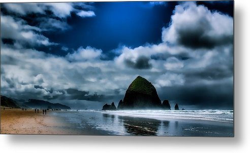Cannon Beach Metal Print featuring the photograph Haystack Rock IIi by David Patterson