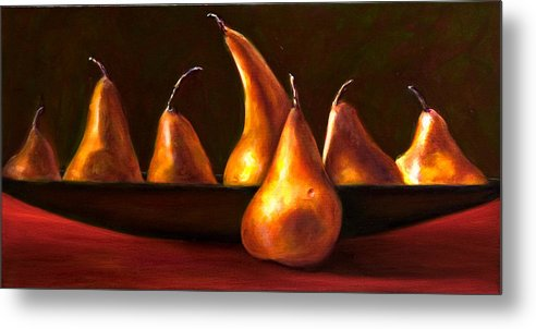 Still Life Metal Print featuring the painting Port Au Pear by Shannon Grissom