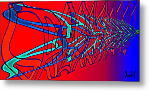C2 Metal Print featuring the digital art The Risc Of Alcohol by Helmut Rottler