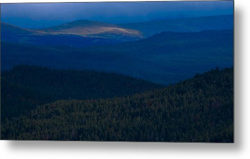 Photograph Metal Print featuring the photograph Distant Gold by Matthew Fredricey