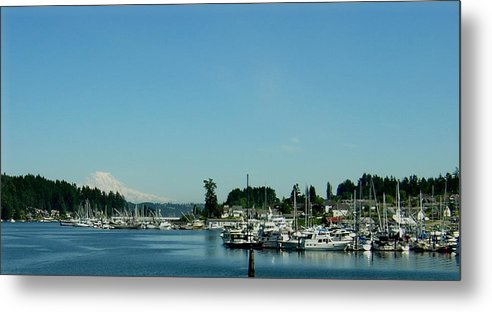 Gig Harbor Bay Metal Print featuring the photograph Gig Harbor Bay by Valerie Josi