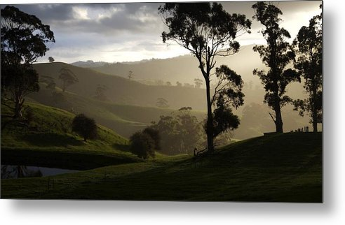 Landscapes Metal Print featuring the photograph Misty by Lee Stickels