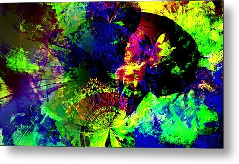 Abstract Urban Art Metal Print featuring the digital art Abstract by Galeria Trompiz
