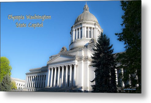 Washington Metal Print featuring the photograph Capitol by Larry Keahey