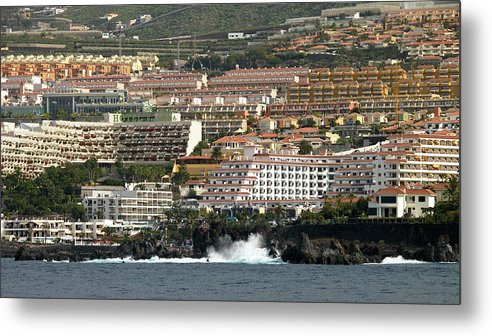 Valasretki Metal Print featuring the photograph Los Gigantes From The Sea by Jouko Lehto