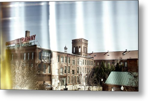 enterprise Mill Metal Print featuring the photograph Slit Scan 3 by Patrick Biestman