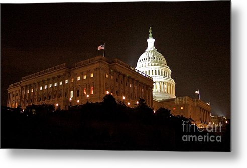 Capitol Building Metal Print featuring the photograph The Capitol by Mark Lemon