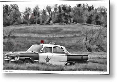 Automobile Metal Print featuring the photograph Classic Cruiser by Richard Bean