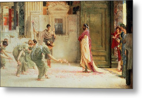 Caracalla Metal Print featuring the painting Caracalla by Sir Lawrence Alma-Tadema