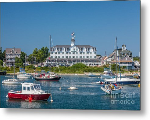 America Metal Print featuring the photograph Old Harbor View by Susan Cole Kelly