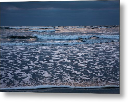 Beach Metal Print featuring the photograph Shining Sky by Susan Cole Kelly