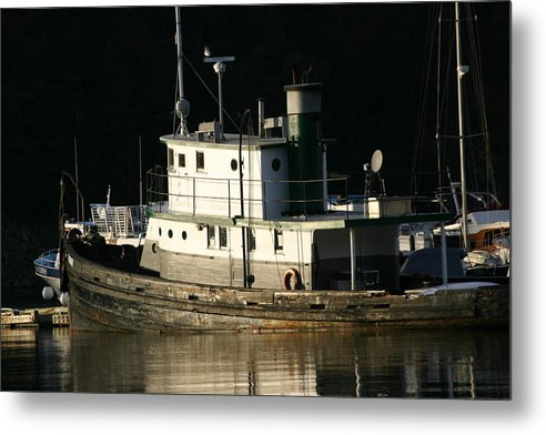 Boat Metal Print featuring the photograph Workboat by Doug Johnson