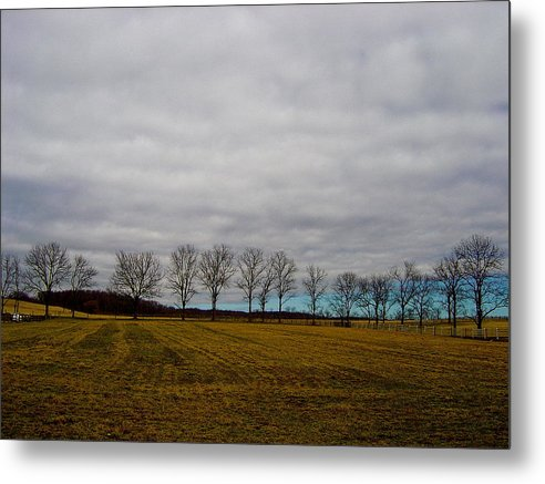 Landscape Metal Print featuring the photograph Holding Up The Sky by Sergio Geraldes
