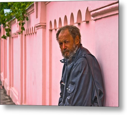 Portrait Metal Print featuring the photograph When I Passed By by Vadim Grabbe