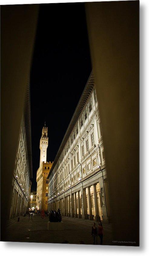 Italy Metal Print featuring the photograph Uffizi by Luigi Barbano BARBANO LLC