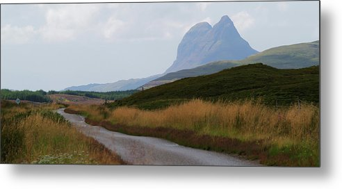 Mountain Metal Print featuring the photograph Suilven by Steve Watson