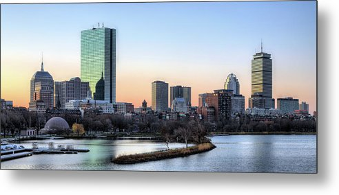 Boston Metal Print featuring the photograph Back Bay Sunrise by JC Findley