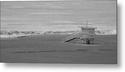 Beaches Metal Print featuring the photograph Life Guard Stand by Shari Chavira