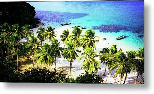 Thailand Metal Print featuring the photograph Thailand by Peter Creighton