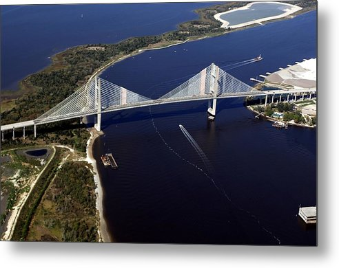 Bridge Metal Print featuring the photograph Dantes Bridge by John Dwyer