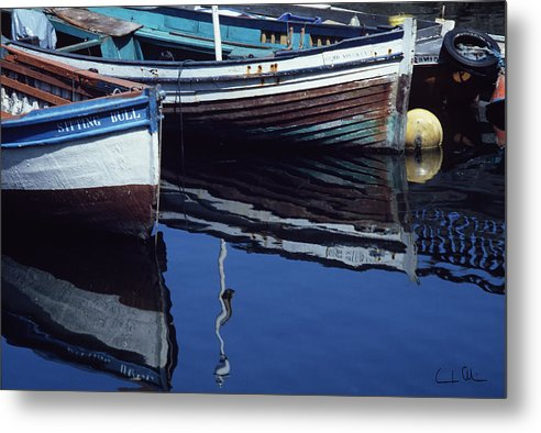 Boat Metal Print featuring the photograph The Sitting Bull by Carlos Alvim