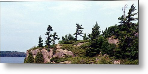 Landscape Metal Print featuring the photograph Small Island by Lyle Crump