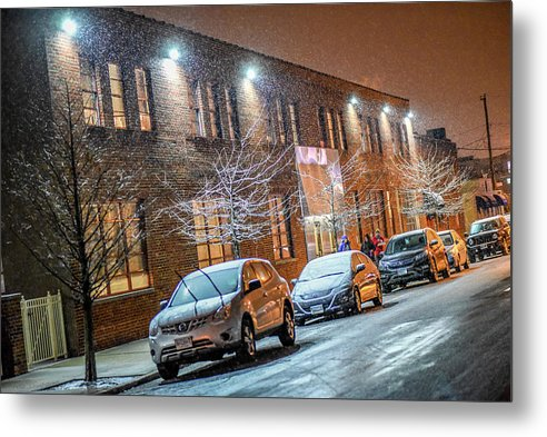 Richmond Metal Print featuring the photograph Let It Snow Scotts Addition by Doug Ash