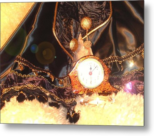 Mantles Metal Print featuring the photograph Midnite Prayer by Cleautrice Smith