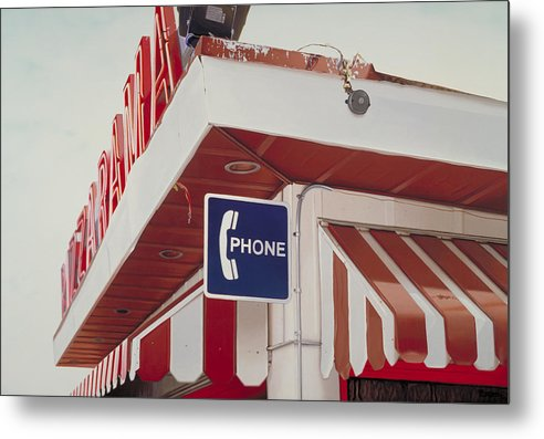 Diner Metal Print featuring the painting Pizzarama by Randy Ford