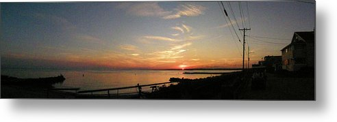 Dusk Metal Print featuring the photograph Old Saybrook Dusk by Steven W Rand