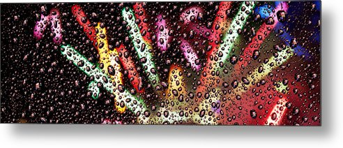 Seattle Metal Print featuring the photograph 2010 New Year Ph001 by Yoshiki Nakamura