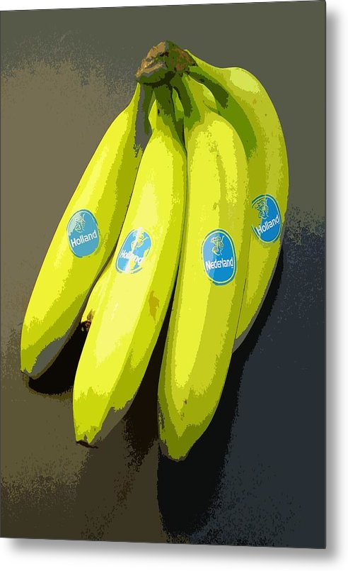 Fruit Metal Print featuring the painting Banana Republic by Marcello