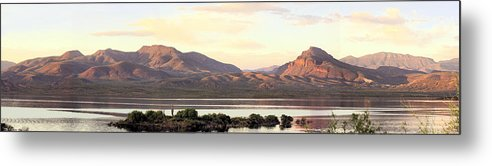 Photography Metal Print featuring the photograph Lake Roosevelt by Sharon Broucek