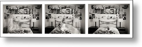 Time Metal Print featuring the photograph Stripped Of Inspiration by Gabriela Insuratelu