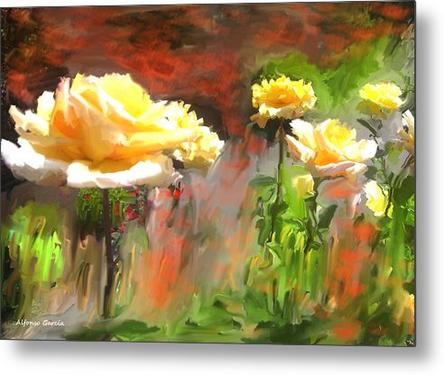 Fine Art Flowers Metal Print featuring the photograph Picaras by Alfonso Garcia