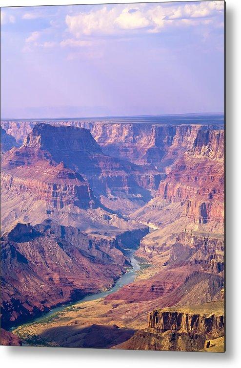 Grand Canyon Metal Print featuring the photograph Grand Canyon I by Linda Morland