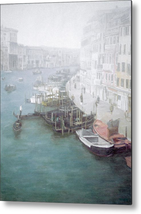 Venice Metal Print featuring the painting The Grand Canal by Masami Iida