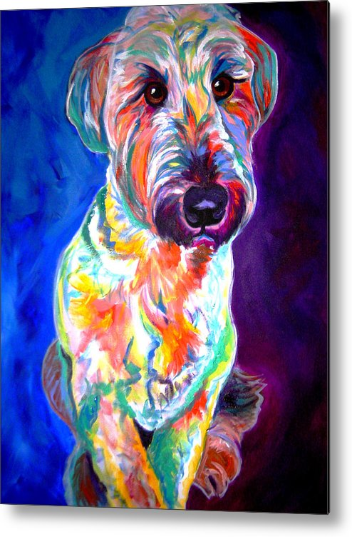 Briard Metal Print featuring the painting Briard - Albert by Alicia VanNoy Call