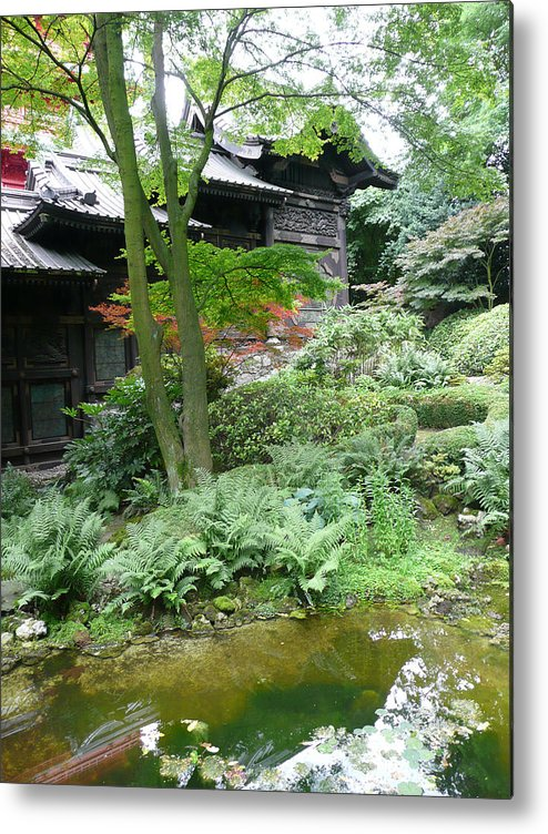 Garden Metal Print featuring the photograph Dreaming Of Japan by Dmytro Toptygin