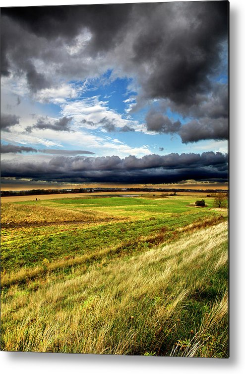 Horizons Metal Print featuring the photograph Drivin by Phil Koch