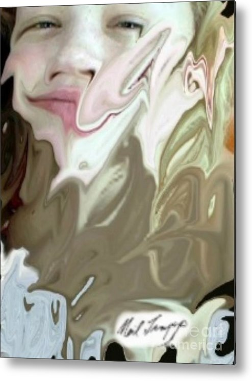 Death Metal Print featuring the digital art Life In Death by Neil Trapp