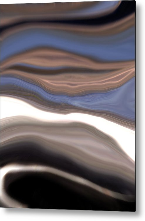 Abstract Metal Print featuring the photograph Longing by Linnea Tober