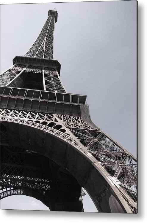 Paris Metal Print featuring the photograph Looking Up by Isabel Carlisle
