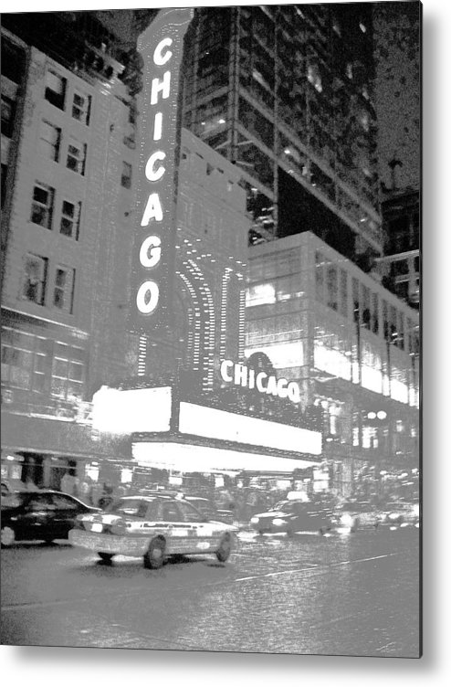 Chicago Metal Print featuring the photograph No Wind In This City....... by WaLdEmAr BoRrErO