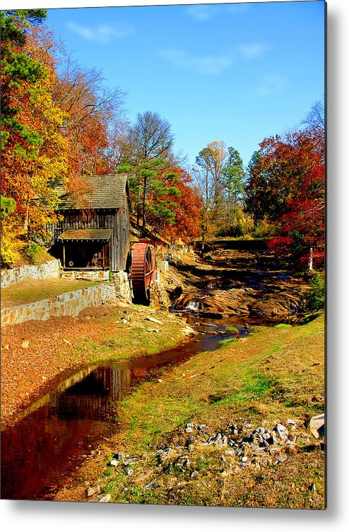 Mill Metal Print featuring the photograph Old Mill by Ralph Perdomo