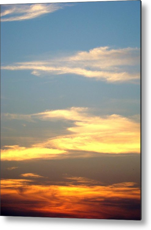 Sunset Metal Print featuring the photograph Painted Sky by Ana Villaronga