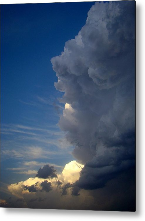 Clouds Metal Print featuring the photograph Power One by Ana Villaronga
