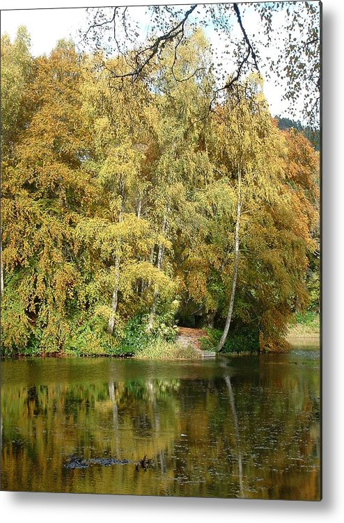Loch Dunmore Metal Print featuring the photograph Reflections On Dunmore by David Moore