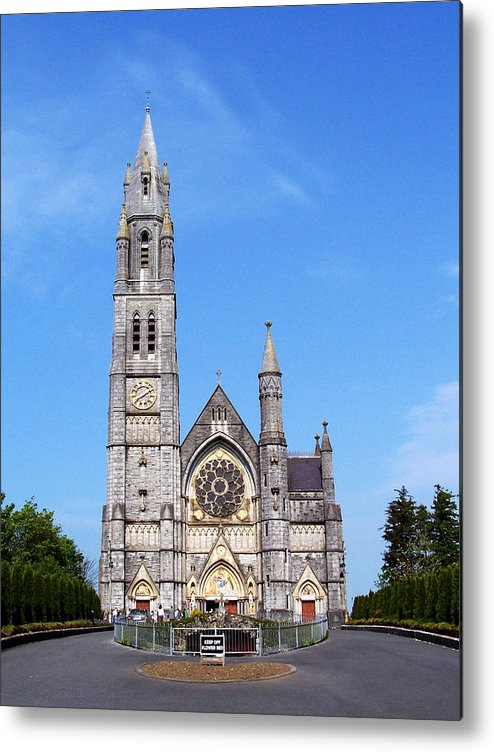 Ireland Metal Print featuring the photograph Sacred Heart Church Roscommon Ireland by Teresa Mucha